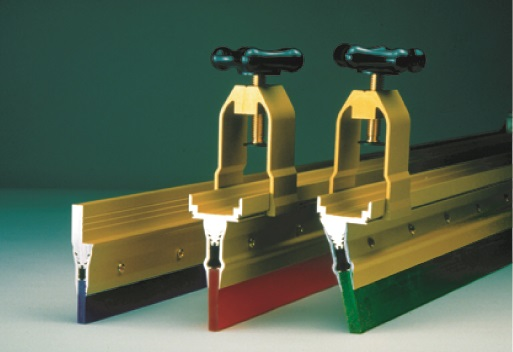 machine squeegee holder